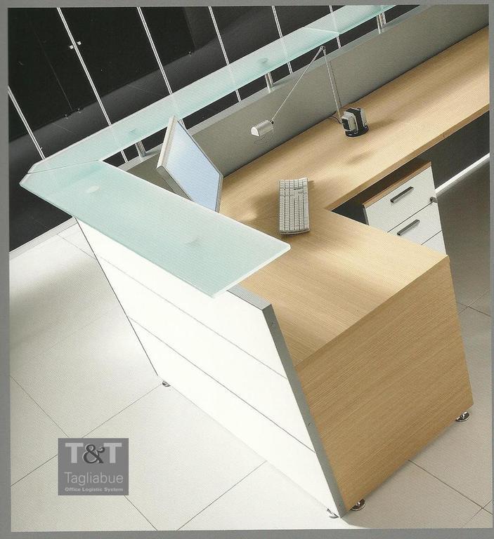T t system di tagliabue e c s a s reception accoglienza for Banconi reception per ufficio
